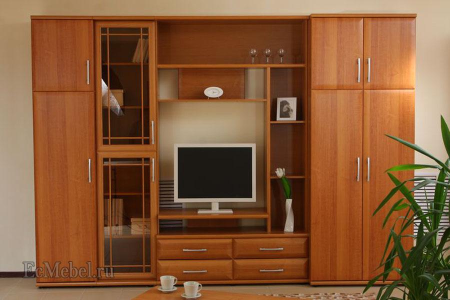 Мебельная стенка мк 30.1 для гостиной. - 0.00000.